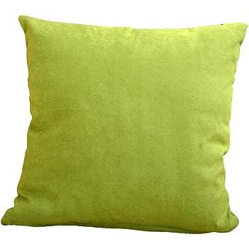 HUHU833 45cm*45cm Pillow Case Simple Solid Cushion Cover Throw Sofa Home Decor Dark Green