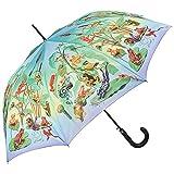 VON LILIENFELD Regenschirm Automatik Damen Herren Kinder Motiv Froschfamilie