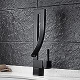 TougMoo Nouveau Design Bronze Laiton Massif Avec Robinet De Cuisine Mitigeur De Bain Robinets D'Évier Bassin Noir