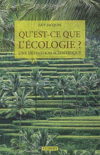 Qu'est ce que l'écologie ?