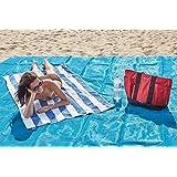 Toalla Playa anti-sabbia para la tua Summer sin Stress y sin arena para Chi ama Stare Sempre limpio 200 x 200 cm