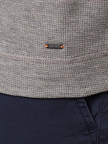 BOSS Orange Langarmshirt Tempest für Herren, 50378314 Grau (Light/Pastel Grey 051)