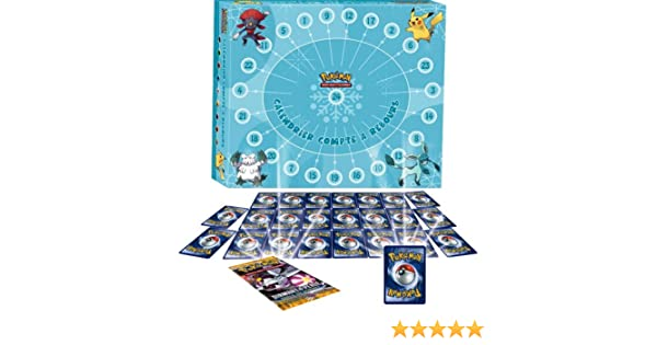 Calendrier De Lavent Pokemon 2020.Asmodee Cal01 Calendrier De L Avent Pokemon
