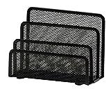 Osco LH1-BLK - Soporte para cartas de malla metálica, color negro
