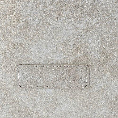 Fritzi aus Preußen Damen Kacie Schultertasche, 29 x 35 x 48 cm Metal