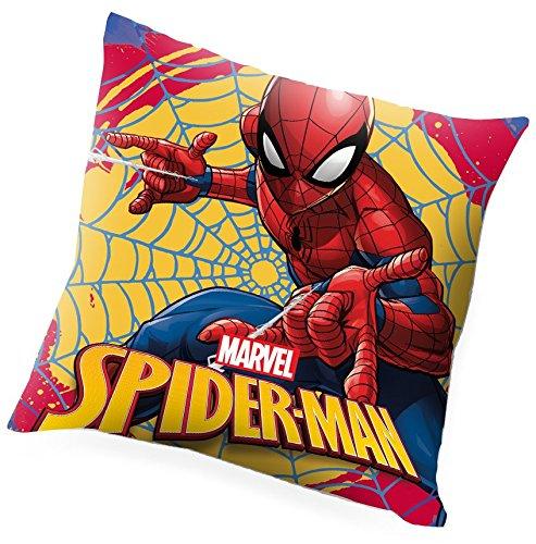 Prix Kids Licensing Set Cadeau-Coussin et Plaid à l'effigie de Spiderman, MV15274