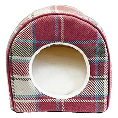 Festive Collection Christmas Igloo Bed for Cats 2