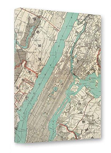 artboxONE Leinwand 150x100 cm Städte Städte / New York Reise