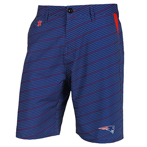 "New England Patriots NFL ""Dots"" Men's Casual Polyester Walking Shorts"