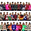 Men's Women's Novelty Jumper Sweater Retro Christmas Xmas Novelty Winter Fairisle