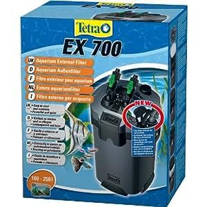 Tetra 145542 EX 700 leistungsstarker Außenfilter (für Aquarien inklusive 5 verschiedener Filtermedien, geeignet für 100 - 250 liters Aquarien)