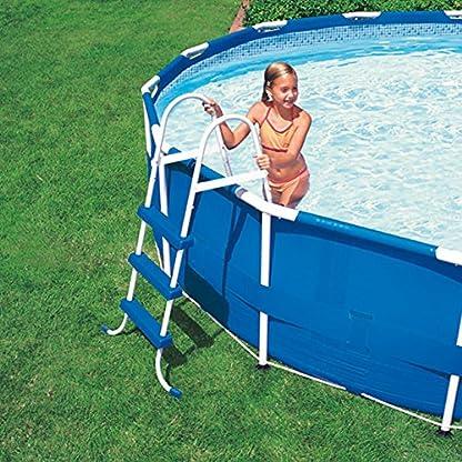 Intex Escalera para piscina cm H107
