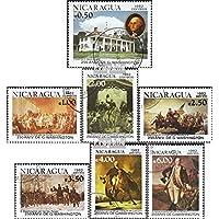 Nicaragua 2285-2291 (completa.Problema.) 1982 George Washington (Francobolli (Francobolli Washington)