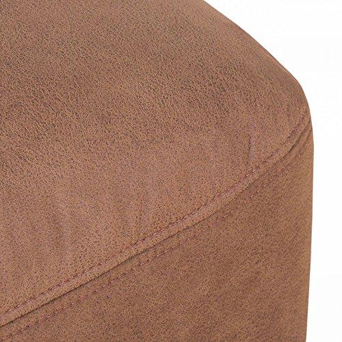 ALESSANDRIA 3er Boxspringsofa 3-Sitzer Sofa Couch Kamel -
