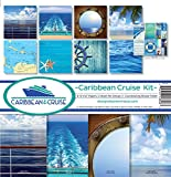 Reminisce cru-200Caribe crucero de Recortes Collection Kit