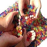 #5: Sooper Beads Water Beads, 2 Oz Pack Crystal Water Bead Gel [Rainbow Mix] For Kids