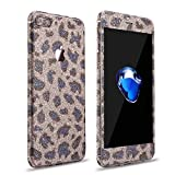 iPhone 8 Plus iPhone 7 Plus Glitzerfolie Skin Protector Aufkleber Film Glitzer Diamond Schutzfolie...