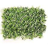 YNFNGXU Siepe Artificiale Verde Vegetale Sfondo Plastica Giardino Fake Fence Lattice Parete, Soggiorno Decorazione (Colore : B)