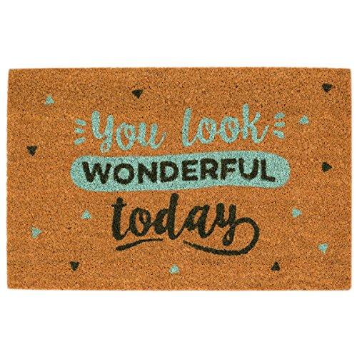 FELPUDO MR  WONDERFUL: YOU LOOK WONDERFUL TODAY