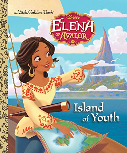 Island of Youth (Disney Elena of Avalor) (Little Golden Book) (People-disney-welt Little)