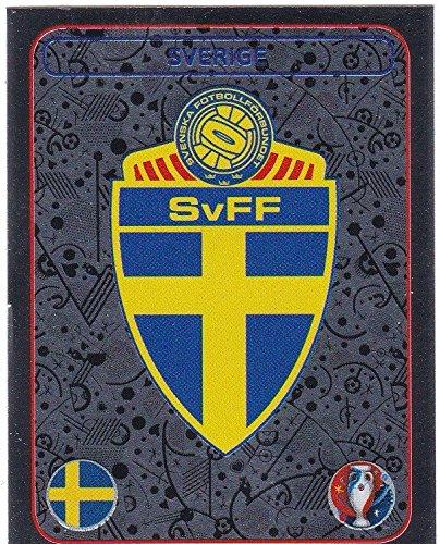 Panini EURO 2016 France - Sticker #464 (Schweden, Wappen)