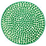 ZigZag Trading Ltd IKEA Flong–Teppich, Low Flor weiß/grün