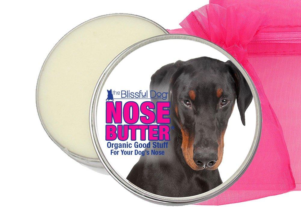 Blissful Dog Nose Butter DOBERMAN PINSCHER Organic Good Stuff for your dogs Crusty / Dry Nose (1oz Tin)