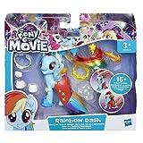 Hasbro My little Pony Movie Land und Seepony Stylingspaß Rainbow Dash