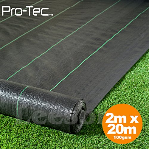 2m-x-20m-wide-100gsm-weed-control-fabric-garden-landscape-ground-cover-membrane