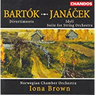 Bartok: Divertimento for Strings / Janacek: Idyll / Suite for String Orchestra