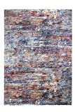Luxor Living Gewebter Teppich Belcanto in Vintage-Optik, Webteppich im Used-Look, hochwertig (Design 2, 133x190cm)