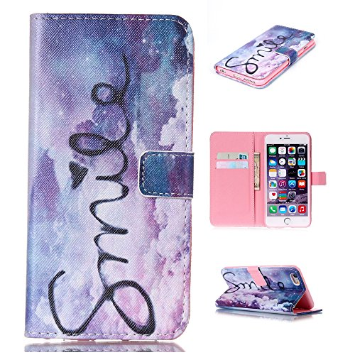 Nutbro [iPhone 6/6S] iPhone 6 Case,iPhone 6 Wallet Case,[Wallet] Leather Cover [Flip Cover] with Foldable Stand, Pockets for ID, Credit Cards for iPhone 6/6S 71