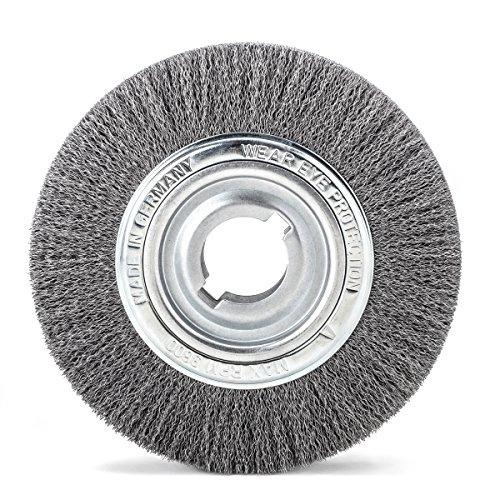 690211001 d'ébavurage/Brosse ronde rouleaux DRM 250 mm large 55–60 mm Tuyau en acier 100 mm STH Poids 0,2 mm