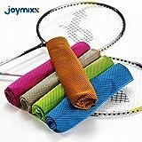 Microfiber toalla fría instantánea, Joymixx deportes fresco toalla, estancia fresca para el gimnasio,...