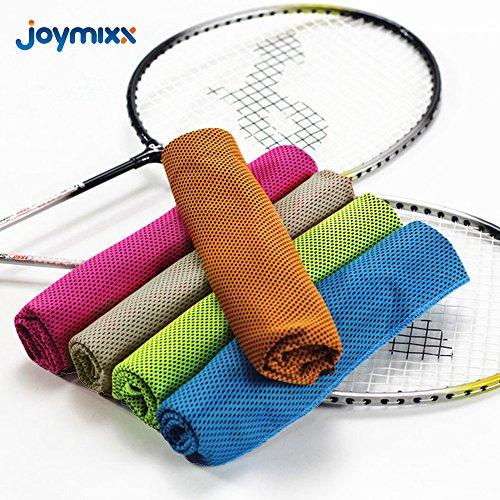 Asciugamani istantanei di raffreddamento, joymixx palestra sportiva asciugamani, per la cottura, allenamento, corsa, febbre, giardinieri, vita quotidiana, asciutto rapido e assorbente - 39 * 12 pollici