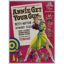 Annie Get Your Gun, Betty Hutton & Howard Keel, Louis Calhern, 1950 - Foto-Reimpresión película Posters 24x32 pulgadas - sin marco