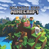 Minecraft Calendar 2021: 16 Months Mini wall calendar & 16 Colorful Posts