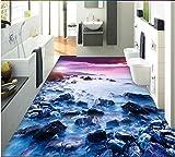 Malilove 3d rpvc Bodenbeläge custom Wall Paper Stein Wohnzimmer 3d Bad Wandbilder Fototapete für Wände 3d