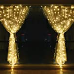 String lights for Window Curtain, 3M 304 LED Fairy Twinkle Starry Decorative Light for Indoor Outdoor Wedding Christmas...