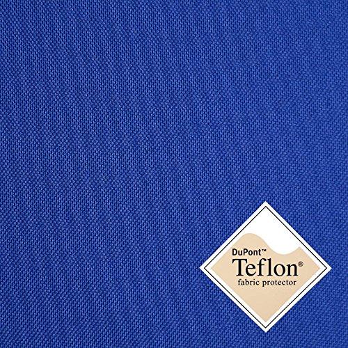 Breaker Teflon - royal - winddichter, wasserabweisender, beschichteter Stoff - Polyester - Segeltuch...