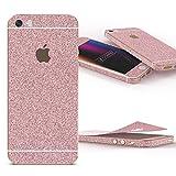 Urcover Glitzer-Folie zum Aufkleben | Apple iPhone SE/5/5s | Folie in Rosa | Zubehör Glitzerhülle Handyskin Diamond Funkeln Schutzfolie Handy-schutz Luxus Bling Glamourös