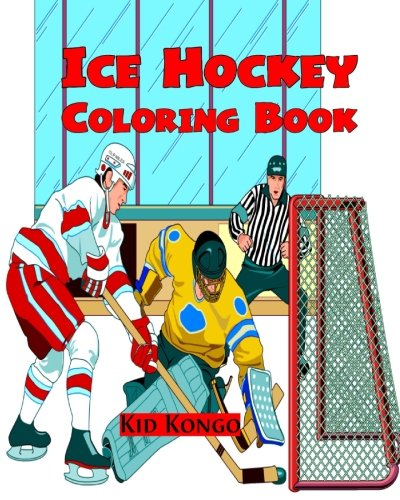 Ice Hockey Coloring Book