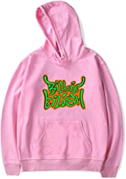 SIMYJOY Billie Eilish Pullover Hoodie Cotton Long Sleeve Fashion Hooded Sweatshirt