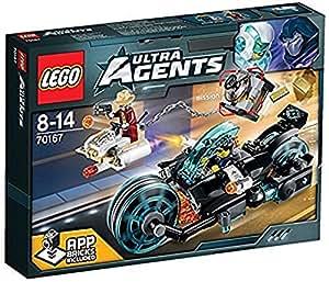 Lego Ultra Agents - 70167 - Jeu De Construction - L'évasion D'invizable