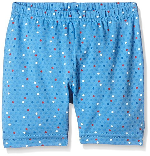 Die Lieben Sieben by Salt & Pepper Baby - Mädchen Short 63714245, All over print, Gr. 80, Blau (sea blue 459)