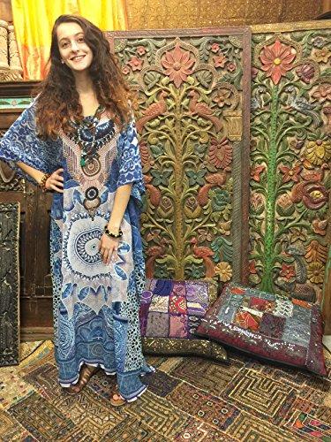 Boho Chic Designs - Copricostume - Kimono -  donna Blue