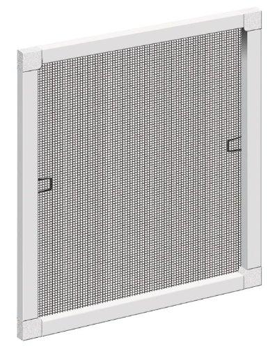 Schellenberg 50730 protezione da insetti/zanzariera a finestra standard, bianco, 80 x 100 cm