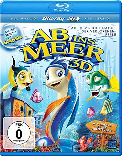 Ab ins Meer - Auf der Suche nach der verlorenen Perle (Mit der Stimme von SpongeBob) [3D Blu-ray]