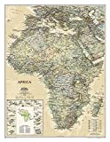 Africa Classic, Enlarged &, Laminated: Wall Maps Continents...