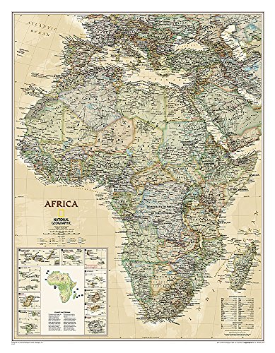 Africa Executive [Laminated] (National Geographic Reference Map)